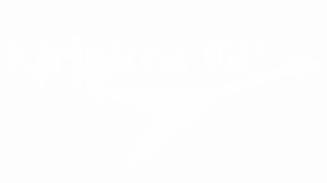Logo KiriakosGP White High Resolution