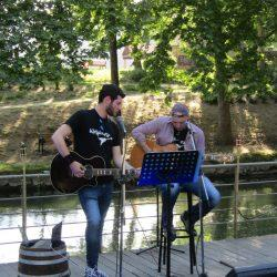 Blue2Black | Acoustic Show | Guitar Clinic | Live at Trikala, Greece (5/5/2017)