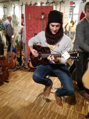 Back in Thomann Music Store